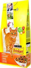 Friskies hrana za mačke, piletina, 4 kg