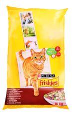Friskies Csirke + Zöldség macskaeledel - 10 kg