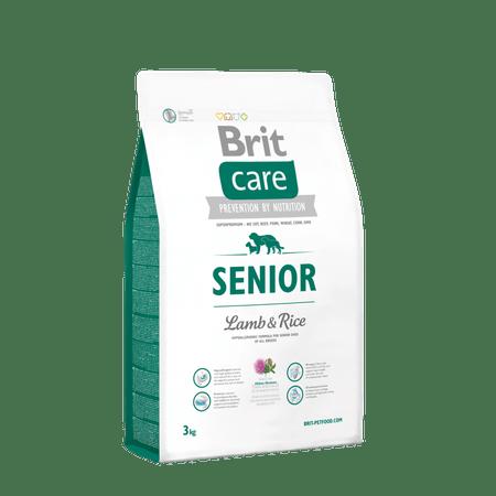 Brit hrana za pse Care Senior z ovčetino in rižem, 3 kg