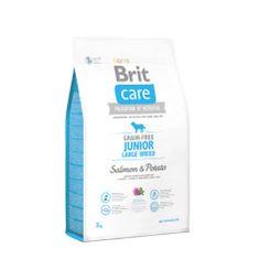 Brit hrana za pse velikih pasem Care Junior, losos, 3 kg