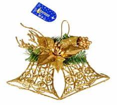 EverGreen Nástenná dekorácia, zvony, 30 cm