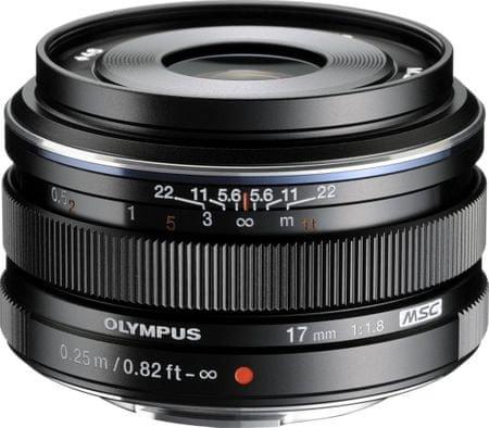 OLYMPUS 17 mm M.Zuiko Digital f/1,8 Black