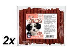 Akinu madžarske salame za pse, 2 x 50 kosov