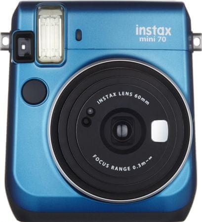 FujiFilm aparat do zdjęć natychmiastowych Instax Mini 70, niebieski