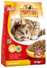 Propesko granule mačka kuracie so zeleninou 12kg
