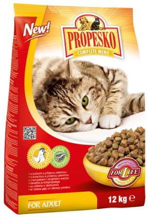 Propesko hrana za odrasle mačke, piletina i povrće, 12 kg