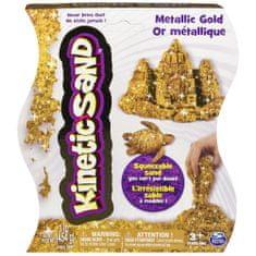 Kinetic Sand Mágikus homok metál fényű arany, 454 g