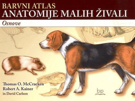 Barvni atlas anatomije malih živali : osnove