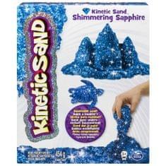 Kinetic Sand Trblietavý piesok modrá 454g