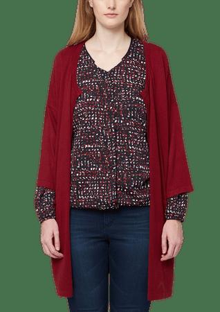 s.Oliver sweter damski plus size 48 czerwony