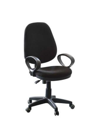 uredska stolica Patrik, crna