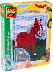 SES Vyšívanie dečka kôň