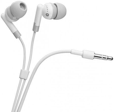 Goobay Ušesne slušalke Basic, bele