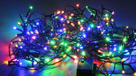 Noel Svetelná reťaz farebná LED, 5,4W, 17,9