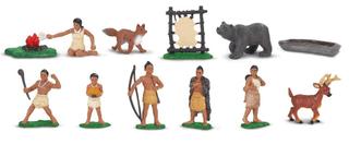 Figurky indiáni
