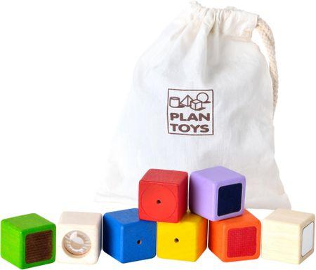Plan Toys senzorne kocke