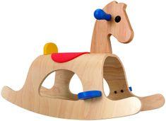 Plan Toys Koń na biegunach Palomino, drewniany