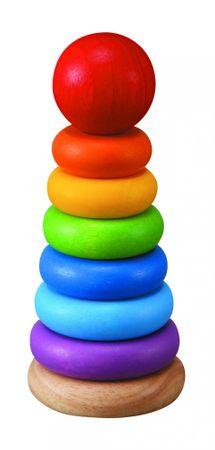 Plan Toys kolorowa wieża