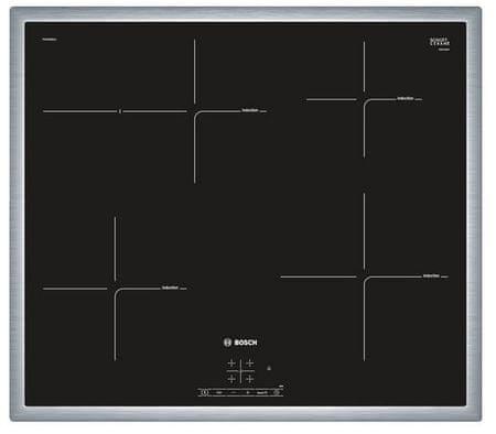 Bosch indukcijska kuhalna plošča PIF645BB1E