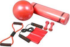 Acra Zestaw fitness - 6 elementów