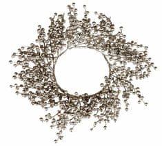 EverGreen Věnec bobulky stříbrný