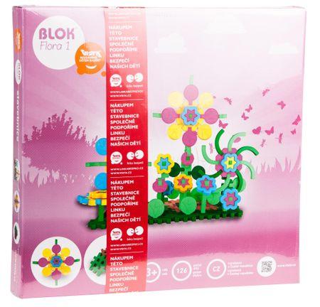 Seva Blok Flora1 Építőjáték, 126 db
