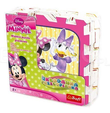 Trefl Habszivacs puzzle, Minnie Mouse, 8 db