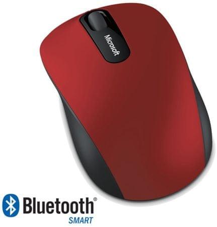 Microsoft Bluetooth 3600 Vezeték nélküli egér, Sötét vörös