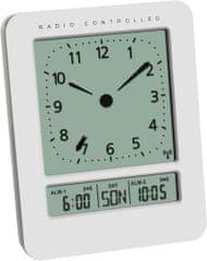 TFA 60.2530.02 Rádiom riadený budík
