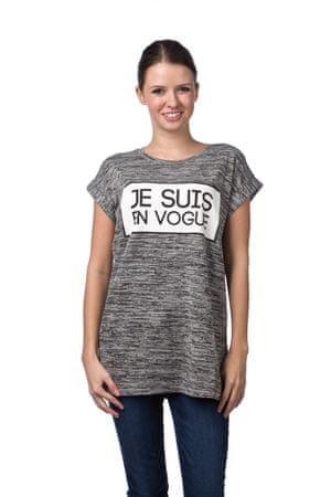 449161551153 Brave Soul dámské tričko Fashion S šedá