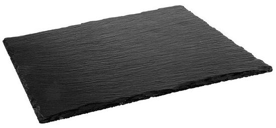 ILSA Servírovací podnos z břidlice, 53x32,5 cm