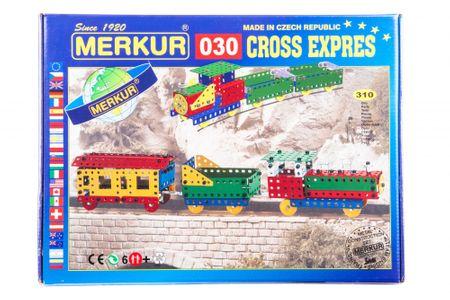 Merkur Stavebnica 030 Cross expres 10 modelov 310ks