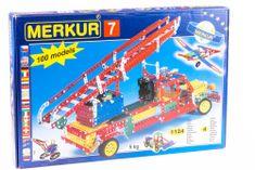 Merkur M 7 Építőkészlet, Fém