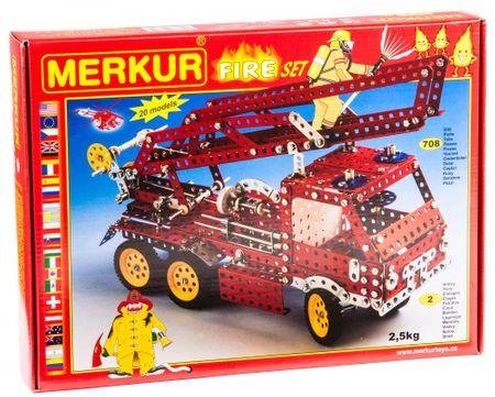 Merkur Stavebnica FIRE Set 20 modelov 708ks