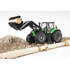 Bruder traktor Deutz Agrotron s prednjo nakladalko 03081