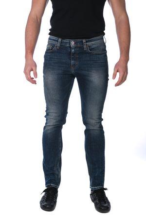 750b392ef39d Mustang pánské jeansy Vegas Skinny 36 34 tmavě modrá
