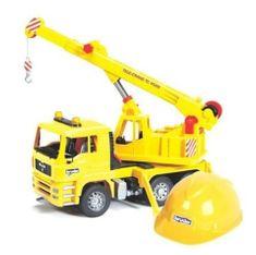 Bruder kamion dizalica, kaciga 01973