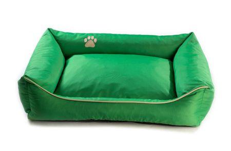 Argi pasja postelja, zelena, S