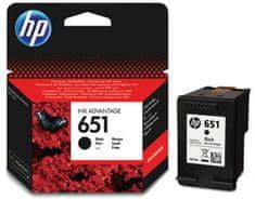 HP náplň 651, černá (C2P10AE)