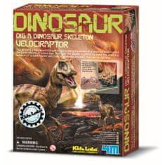 4M dinozaver velociraptor