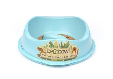Beco Bowl Slow Feed Large Etetőtál, 1,25 l, Kék