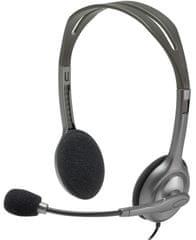 Logitech stereo slušalice H111