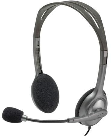 Logitech stereo slušalke H111