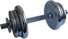 Acra Krómozott kézisúlyzó, 11 kg