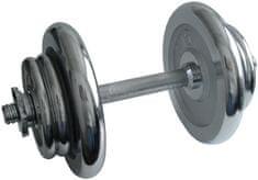 Acra Krómozott kézisúlyzó, 17 kg
