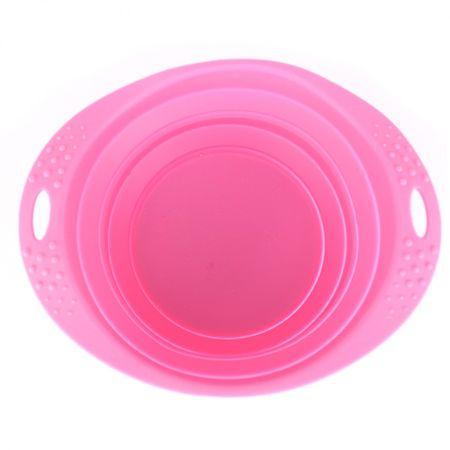Beco Travel Bowl Large Etető, 1.25, Rózsaszín