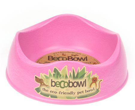 Beco Bowl Medium Etetőtál, 0,75 l, Rózsaszín