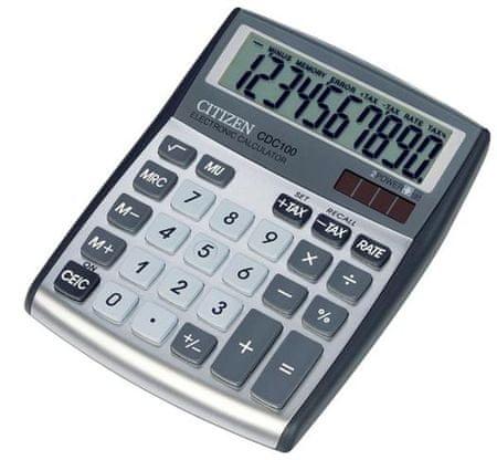 Citizen kalkulator CDC-100WB, srebrn