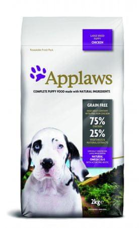 Applaws Dog Puppy Large Breed Chicken kutyatáp - 2kg