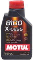 Motul olje 8100 X-Cess 5W40 1L